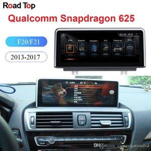 """10.25 """"BMW 시리즈 1/2 F20 / F21 / F23 자동차 2011년부터 2016년까지 터치 스크린 스테레오 대시 멀티미디어 플레이어에 대한 안드로이드 9.0 OS GPS 네비게이션 디스플레이"""