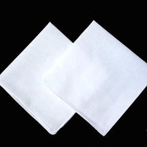 Festa 34 centímetros Lenço 100% Cotton Tabela Masculino cetim Towboats Praça Handkerchief Whitest 34 centímetros Men Presente de Natal Home Textiles LXL650