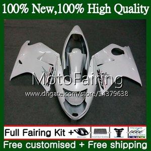 Fairing Bodywork 광택 화이트 HONDA 블랙 버드 CBR1100 XX 02 03 04 05 06 07 53MF22 CBR1100XX CBR 1100XX 2002 2003 2004 2005 2006 2007