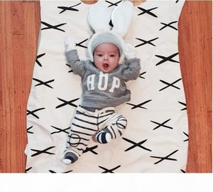 Airplane INS Baby Bear Blanket The Sofa Chair Cute Carter Animal Carpet Baby Quilted Jacket Newborn Swaddle Blanket 110