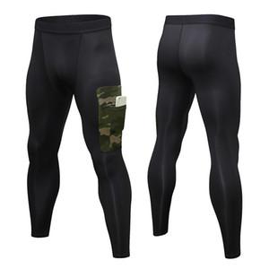 Ücretsiz Kargo joggers logolarla sıska tozluk, vücut tayt basketbol spor pantolon çalışan sıkıştırma pantolon spor mens