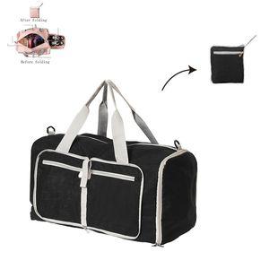 Solido Colore sport grande capacità Duffle Bag pieghevole Borsa da palestra design di lusso Valigia di corsa Portable bagagli scoperta Deposito Bag