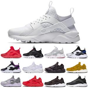 Nike Air Huarache shoes Ultra 4.0 Hurache Running Shoes воздушная подошва Triple White Black Huraches Sports Huaraches Sneakers Harache Мужская обувь для тренеров