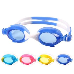 Enfants imperméables lunettes de natation anti-brouillard Masques Lunettes de natation pour enfants enfants Swim Goggle taille de la tête réglable Natation Lunettes