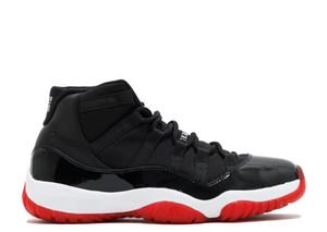 2019 11s Concord 45 criado gimnasia roja atasco del espacio zapatos de medianoche Marina de los hombres de baloncesto 11s fibra de carbono real zapatillas de deporte de los zapatos de entrenador envío libre