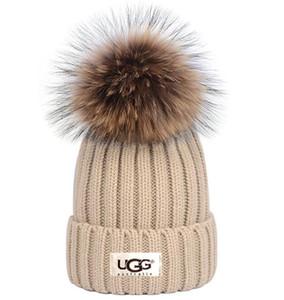 Hot Sale Luxury qualidade Hight CANADA homens lã chapéu de malha bonés clássica crânio esportes high-end mulheres casuais quente gorros Bonnet GOOSE gorro