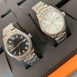 2019 relogio masculino montres avec cadran noir de la mode bracelet de luxe Date Hommes Calendrier Bracelet boucle déployante Maître cadeaux Homme Montres Hommes