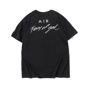 2020 FOG Furcht Gott Graffiti Marke Zusammenarbeit Designer-T-Shirt Mode Männer Frauen-T-Shirt beiläufige Baumwolle T Frühlings-Sommer-Kleidung T-Shirt