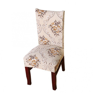 chair cover Removable Chair Protective Cover Elastic Print Wedding Home Party Banquet modern New