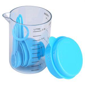 7шт/комплект пластиковые мерные кружки и ложки мера чая и кофе посуда для выпечки формы для выпечки инструменты кухонные инструменты