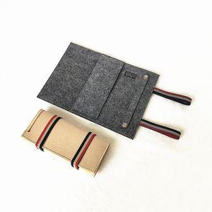 Gioielli rotolo del sacchetto dell'organizzatore del viaggio collana braccialetto anello Custodia di esposizione del supporto Gioielli cassa portatile multifunzionale Stor