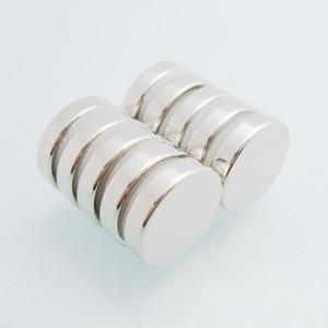 10pcs imanes redondos dia12x2.7mm N48 Fuerte NdFeB granel Súper Disco Raras 12mmx2.7mm Tierra Imán de neodimio