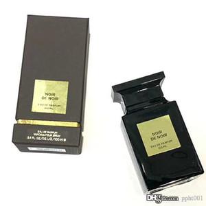 Nötr parfüm Noir de Noir Parfüm Chypre Koku notları Gül Vanilya Sıcak Baharatlı Kutusu Kalıcı 100ML EDP İyi Kalite Uzun Paketleme Sprey