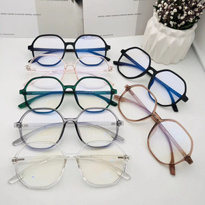 Fashion Multi-color Blue Light Blocking Glasses UV400 Unisex lightweight TR90 Big Frame Computer Pad Phone TV Game Goggles