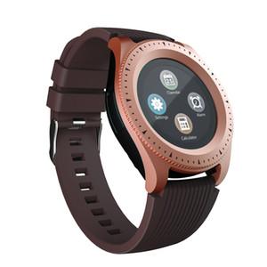 Ranura inteligente reloj de pulsera de SmartWatch Z4 Bluetooth Android con cámara TF tarjeta SIM regalo Relojes Correa Con paquete al por menor