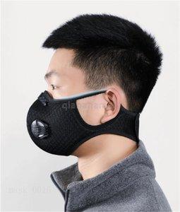 Outdoor Security Maschera 100Pcs monouso Maschera Isolation Mat Anti-Fog Haze antipolvere sostituzione traspirante combinata cotone Guarnizione QA