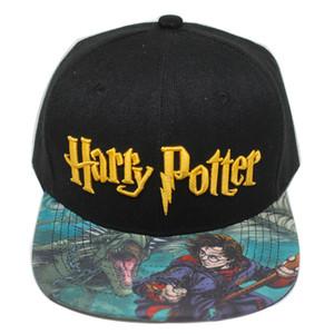 8style هاري بوتر القبعات هوجورتس قبعة بيسبول الكبار سنببك غطاء قابل للتعديل الهيب هوب قبعة في الهواء الطلق بنين بنات تأثيري هدية دعامة FJJ79