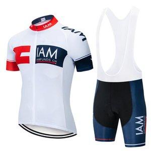 IAM Велоспорт Set 2020 Велоспорт Джерси Summer Team Короткие рукава велосипед Одежда Ropa Ciclismo одежда Спортивный костюм