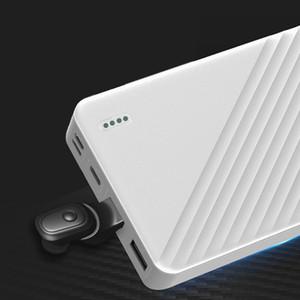 Pop2019 Invisible Nero Scienza e tecnologia Wireless Bluetooth Pattern Mini- Stereo Headset Modalità privata