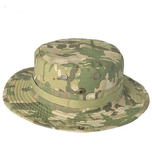 Tactical Airsoft Sniper Camouflage Boonie Hats Nepalese Cap Militares Army Mens American combat Accessories Hiking