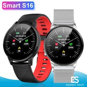 Samsung Phone için S16 Akıllı Bant bilezik Nabız İzle Sağlık Spor Tracker Egzersiz Veri Kaydı Fotoğraf Kontrolü