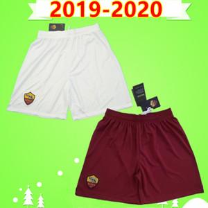rom 19 20 rom fußball shorts erwachsene herren 2019 2020 zuhause schwarz auswärts weiß fußball hose Zaniolo El Shaarawy Dzeko Kolarov Cristante Kluivert
