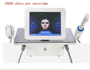 Yüksek kalite!!! 2in1 Taşınabilir Yüksek Yoğunluk Ultrason HIFU Yüz Vücut Vajinal Makinesi Cilt Kaldırma Kırışıklık Kaldırma Sıkma Odaklı