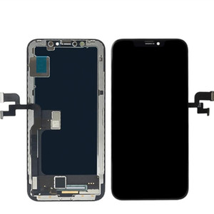 Latest LCD Display For iphone X XS XSMAX XR LCD Display With 3D Touch Screen Digitizer Hard OLED Full Assembly LCD Replacement
