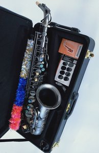 Professional YANAGISAWA A-991High quality Brand NEW Alto Saxophone Black Gold Sax Mouthpiece With Case Shipping