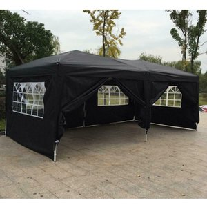10'x 20' Outdoor EZ POP UP Party Tent Wedding Gazebo Canopy Marquee 6 стен