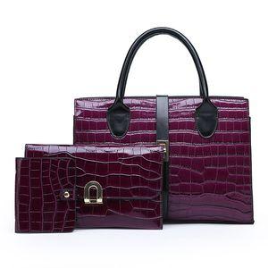 Дизайнер - европейская американская дизайнерская сумка модная дешевая женская сумка с красным черным кошельком