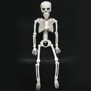 Ужас Хэллоуин украшения Гибкое Анатомия человека Кость скелета модели Медицинская помощь Учиться Анатомия Искусство Sketch для вечеринок JK1909XB