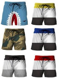 Nuoto uomini sciolti Mens Calzoncini Quick Dry Swim Mens dello Swimwear dei tronchi Slim cuciture colore casuale Breve