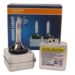 Xenon d1s d1c hid xenon farol 6000k 4300K 8000k 12000k hid farol carro xenon 35w lâmpada lâmpada lâmpada fria luzes automáticas