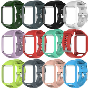 Replacement Watch Band For Golfer 2 Adventunrer Resistance bracelets Starp for TomTom spark runner 2 3 Silicone Case