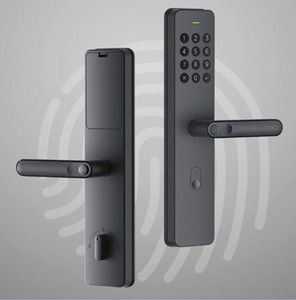 XIAOMI youpin التعامل مع Xiaoda الالكترونية القفل الذكي بصمة Intellgent الباب مع قفل بدون مفتاح الذكية الرقمية أقفال الأبواب المتاحة للMijia