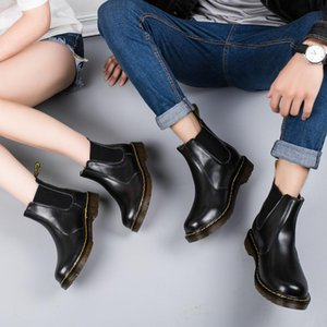 2019 NEW top qualityWomen Short 봉 제 발목 Boots 대 한 Women 레이스 업 Boots Women Round Toe (High)