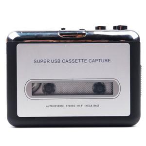 MP3 portátil cassetes capturas de fita USB PC Super MP3 Music Player Audio Converter Gravadores leitores de cassetes-to MP3