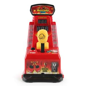 Zhenwe Máquina De Boxe Luta Máquina de Estiramento Brinquedo Dedo Boxe Mini Dedo De Mesa De Brinquedo Força para Meninos Jogos para Crianças
