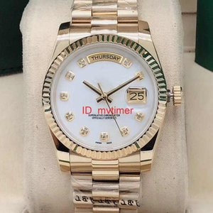 Tasarımcı Saatler Datejust 36mm Çelik Mekanik Otomatik Mens Kadın Elmas İzle Lüks Saatler Erkekler Reloj İş 2813 Kol Dial
