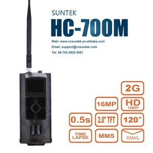 Cellular Hunting Camera 2G GSM MMS SMS SMTP Trail Camera Mobile 16MP Night Vision Wireless Wildlife Surveillance HC700M T191016
