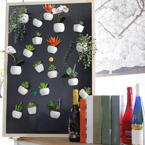 Buzdolabı Sticker Simüle Buket Çiçek Sulu Bitki Buzdolabı Manyetik Saksı Bitki Home For Duvar Dekorasyon