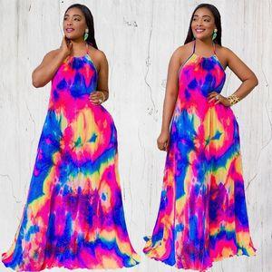 Temperament Women's Pregnant Women Dress Sling Print Fashion Dress New Maternity Dresses
