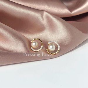 Элегантный Перл серьги женщин стерлингового серебра 925 Премиум Sense Design Простой Atmosphere флэш бриллиантовые серьги \ Описание