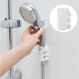 2PCS Portable Shower Head Shelf Shower Head Rack Wall Mount Bath Nozzle Suction Cup Bracket Bathroom Accessories