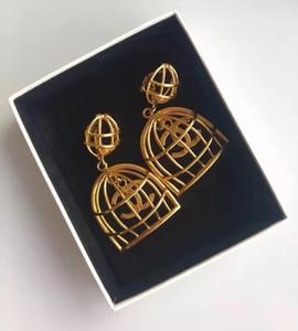 inci ve kadınlar hediye takı 18k altın için renkli elmas Üst pirinç malzeme damla Küpe ücretsiz gönderim PS5716 kaplama