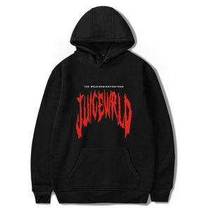 NEW Mens Hoodies American Rapper Juice Wrld Fashion Printing Winter Brand Hooded Sweater for Men and Women Clothing 6 Colors Available