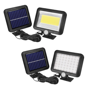 CRESTECH solar COB 100leds infrarrojo del sensor de movimiento del sensor de la luz de inundación de IP65 a prueba de agua al aire libre para la calle Jardín