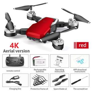 Drones com câmera 4K aérea de quatro eixos RC Aircraft resistentes à queda Remote Control Toy Aircraft 2 milhões / 5 Million câmera HD Quadrotor