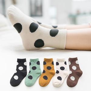 Autumn Winter Infant Baby Socks Kids Dots Knitted Cotton Socks Girls Princess Children Ankle Socks